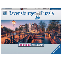 RAVENSBURGER Abend in Amsterdam Puzzle Mehrfarbig