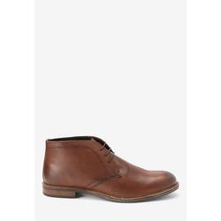 Next Halbhohe Schuhe aus Leder Stiefel 44