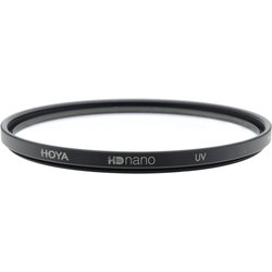 Hoya HD Nano UV Filter (67mm, UV-Filter), Objektivfilter, Schwarz
