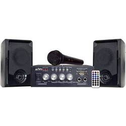 Party KA100 Karaoke-Anlage Inkl. Karaoke-Funktion, Inkl. Mikrofon