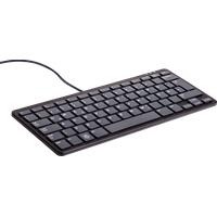 Raspberry Pi® Tastatur schwarz USB-Tastatur Deutsch, QWERTZ, Windows® Schwarz USB-Hub