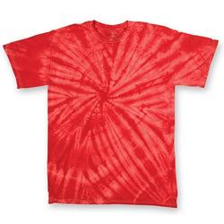Cyclone Youth T-Shirt | Dyenomite Red Cyclone XS