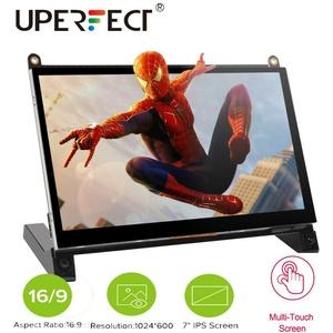 2021 NEU 7 Zoll 1024x600 HDMI LCD Touchscreen Monitor für Raspberry Pi B + / 2B