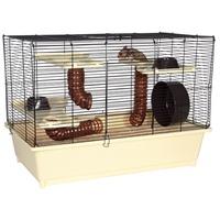 TRIXIE Hamsterkäfig mit Grundausstattung 62 x 46 x 36 cm