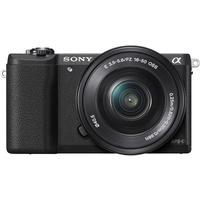 Sony Alpha 5100 schwarz + 16-50mm PZ OSS + 55-210mm OSS