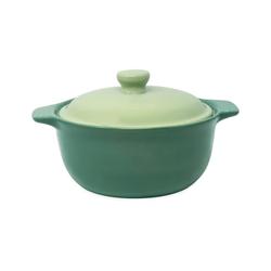 WALD Kochtopf Keramik-Kochtopf mittelgroß, grün
