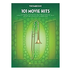 101 Movie Hits For Trombone - Buch
