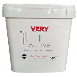 Very Active Waschpulver Vegan und ohne Mikroplastik 200 WL