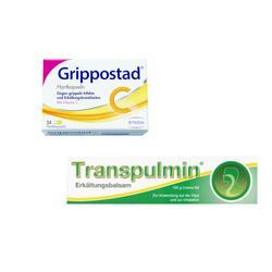 Transpulmin + Grippostad C Set