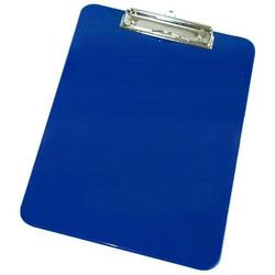 Klemmbrett A4 ABS blau