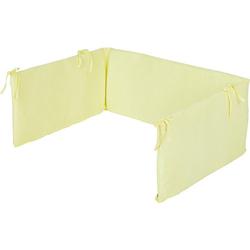 Nestchen Kinderbetten, Jersey, lemon gelb  Kinder