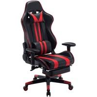 Woltu Peter Gaming Chair schwarz/rot