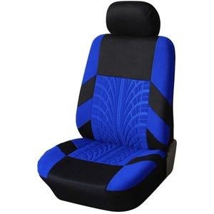 GELing Auto-Sitzbezüge Vordersitze, Auto-Sitzbezüge Set Universal Schonbezüge für Auto Sitzbezug Sitzschoner Autositzbezug Autositzauflage Vordersitze 1 Stück-Blau