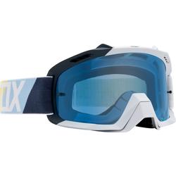 FOX Air Space Draftr MX Brille, weiss-blau