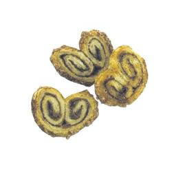 Mini-Zimtöhrchen, 100 Gramm, leckerer Blätterteig mit leichter Zimt-Note, im
