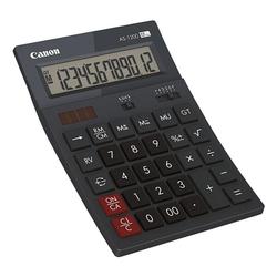 Taschenrechner »AS-1200« grau, Canon, 11.9x3.7x17.7 cm
