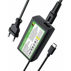 muchen 65w USB C Ladegerät Type-C PD Netzteil für HP Spectre 12-a011nr 12-a012nr, Spectre X360 PN-LA01 PA-1150-23HA Laptop Ladekabel Notebook-Netzteil