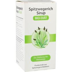 Spitzwegerich-Sirup BIO-DIÄT