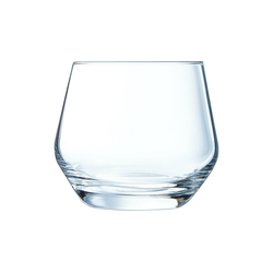 Chef & Sommelier Tumbler-Glas Lima, Krysta Kristallglas, Trinkglas Wasserglas Saftglas 350ml Krysta Kristallglas transparent 6 Stück Ø 9.4 cm x 8.3 cm