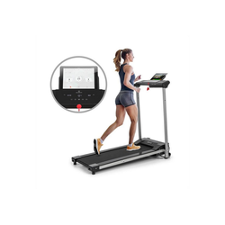 KLARFIT Laufband Treado Active Laufband 1 PS 10 km/h 36x100 cm Bluetooth Touch-Display