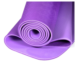 yogabox Yogamatte TPE 2-farbig lila