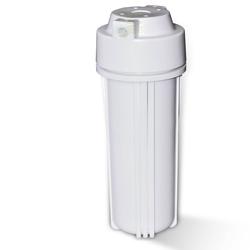 25,4cm (10 Zoll) Wasserfiltergehäuse, Umkehrosmose, weiß