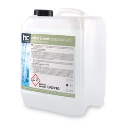 4 x 5 Liter Essigsäure 60% in Kanistern(20 Liter)