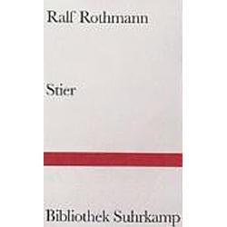 Stier. Ralf Rothmann  - Buch