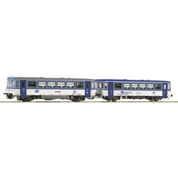 Roco 70379 H0 Triebwagen 810 472-1 mit Beiwagen der CD