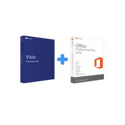 Visio 2016 Professional + Office 2016 Professional Plus (Bundle)