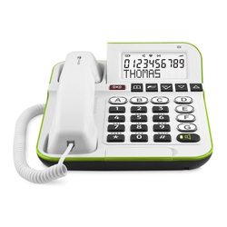 Doro Secure 350 Weiß Festnetztelefon