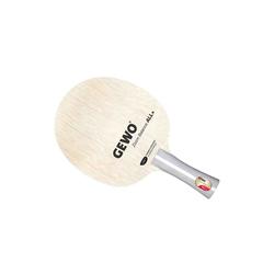 Gewo Tischtennisschläger Gewo Holz Zoom Balance All+ Griffform-konkav