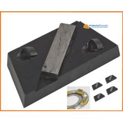 Eibenstock Schleifschuhset PKD für Betonschleifer EBS 235.1, Inhalt 5 Stück