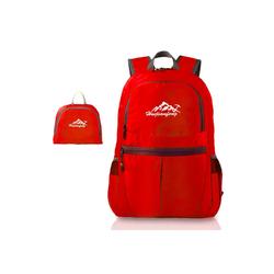 Intirilife Daypack Intirilife Faltbarer Rucksack Ultraleicht - 36L Unisex Wanderrucksack Wasserdicht, Faltbarer Rucksack Ultraleicht rot