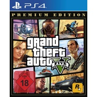 Grand Theft Auto V - Premium Edition (USK) (PS4)