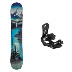 Jones Snowboard - Pack Frontier 2021 - Snowboard Sets inkl. Bdg.