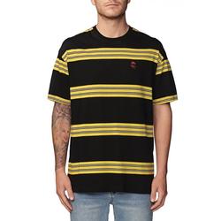 Tshirt GLOBE - Moonshine Tee Sulphur (SULPH) Größe: XL