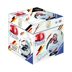 Ravensburger 3D-Puzzle Puzzle-Ball DFB Spieler Jonathan Tah EM20, 54, Puzzleteile
