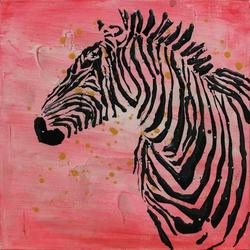 Öl-Wandbild Kalahari 70cm x 70cm