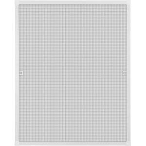 Fliegengitter Insektenschutz Fenster Alu Rahmen Bausatz 40 x 60 cm weiß