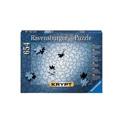 Ravensburger Puzzle Puzzle 654 Teile, 70x50 cm, Krypt silber, Puzzleteile
