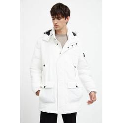 Finn Flare Winterjacke mit praktischen Taschen weiß XXL