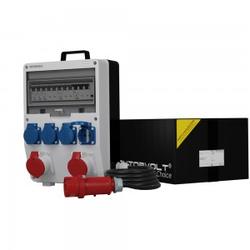 Stromverteiler TD-S/FI 2x16A 4x230V Kabel 5x4mm2 SKH Baustromverteiler Doktorvolt 6800