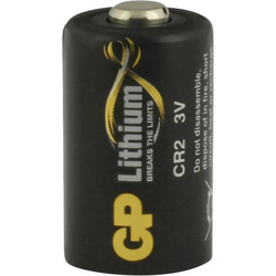 GP Batteries DLCR2 Fotobatterie CR 2 Lithium 3V 1St.