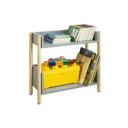SoBuy Bücherregal KMB28, Kinderregal mit 2 Ablagen