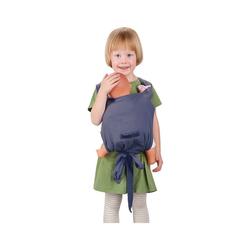 Hoppediz Babytrage Puppen-Trage Bondolino, Blau-Melange blau