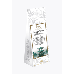 Ronnefeldt Ingwer-Zitrone auf Grüntee 100g loser Tee