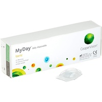 CooperVision MyDay daily disposable Toric, 90er Pack / 8.60 BC / 14.50 DIA / -3.00 DPT / -0.75 CYL / 10° AX