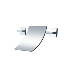 WISTUM Unterputzarmatur Wannenarmatur Unterputzarmatur 3 Loch Wannenbatterie Wannenmischer