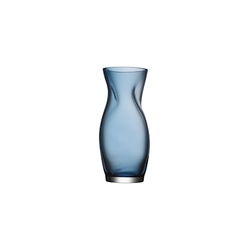 Orrefors Squeeze Vase Blau H 230 mm
